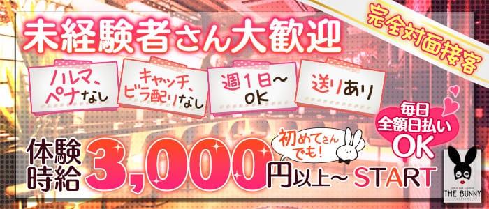 THE BUNNY(ザ バニー) 横浜ガールズバー バナー