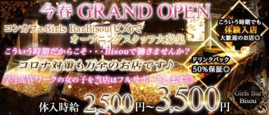 Girls Bar Bisou(ビズ)【公式求人情報】(神田ガールズバー)の求人・バイト・体験入店情報