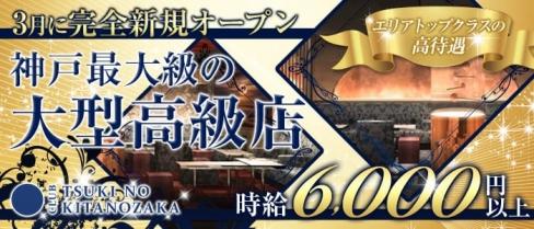 TSUKI NO KITANOZAKA(ツキノキタノザカ)【公式求人情報】(三宮キャバクラ)の求人・バイト・体験入店情報