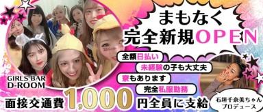 GIRLS BAR D-ROOM ディールーム【公式求人情報】(上野ガールズバー)の求人・バイト・体験入店情報