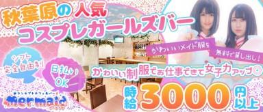 Cafe&Bar Mermaid(マーメイド)【公式求人情報】(秋葉原ガールズバー)の求人・バイト・体験入店情報