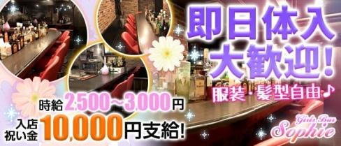 Girls Bar Sophie(ガールズバーソフィー)【公式求人情報】(自由が丘ガールズバー)の求人・バイト・体験入店情報