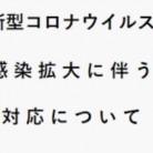 【新型コロナウイルス対策実施店】