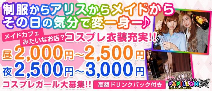 パピヨン(錦糸町ガールズバー)のバイト求人・体験入店情報