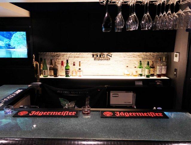 Girl's Bar DEN<デン> 六本木 ガールズバー SHOP GALLERY 2