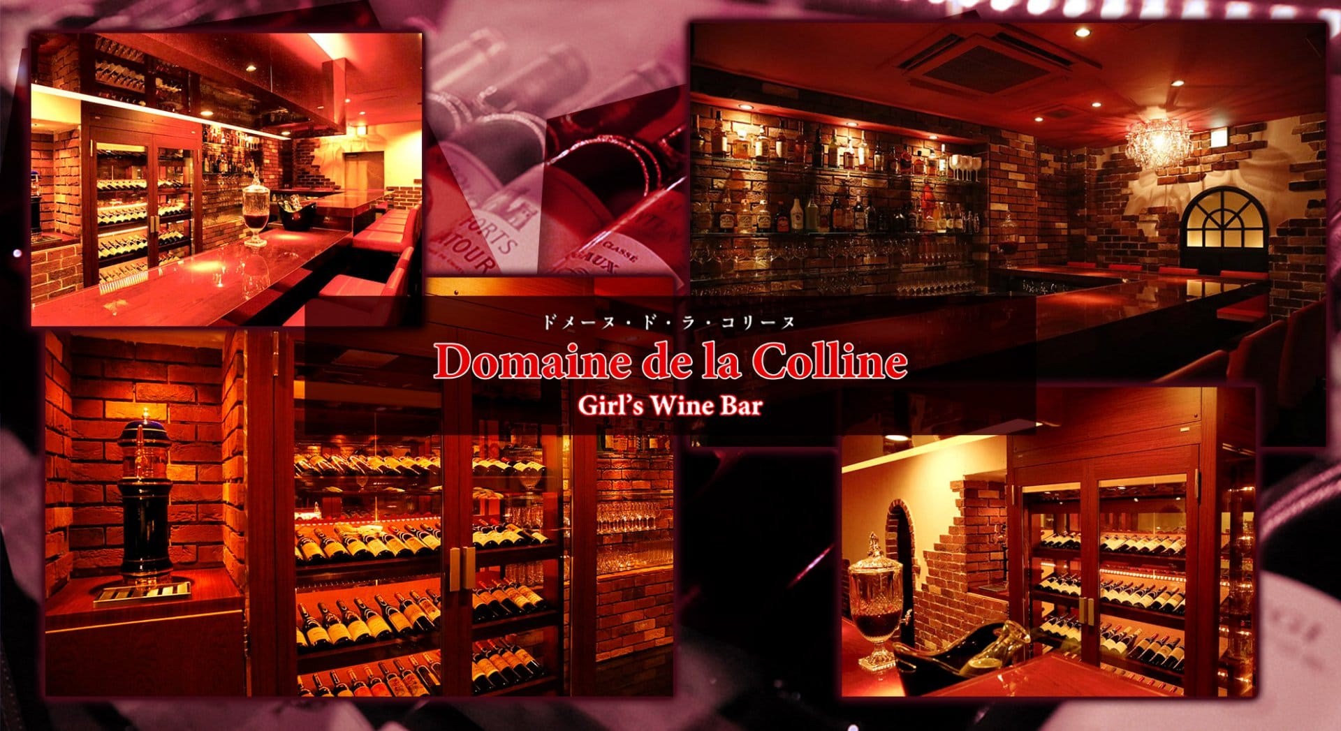 Domaine de la Colline<ドメーヌ ド ラ コリーヌ> 渋谷 ガールズバー TOP画像