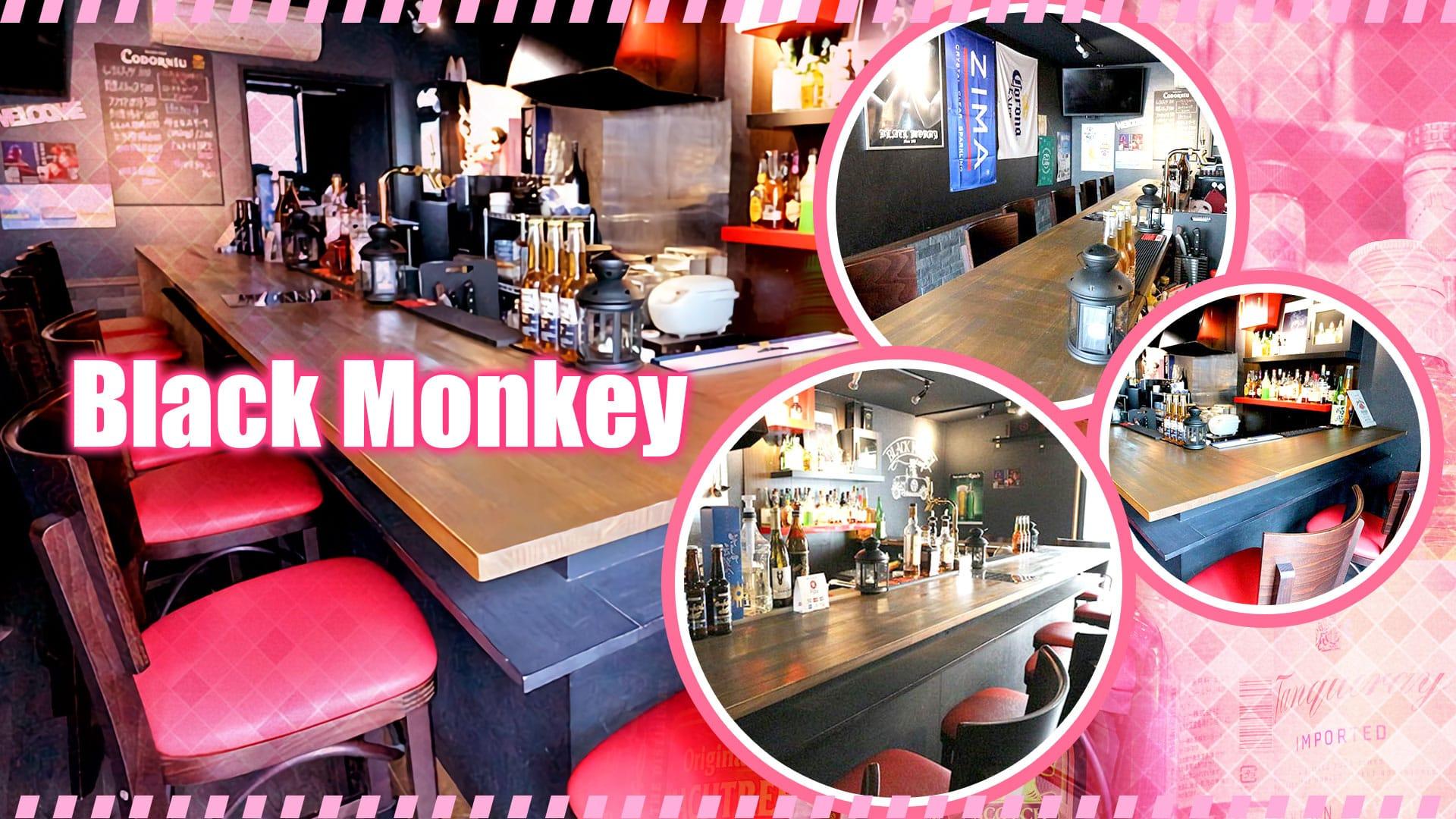 Black Monkey<ブラックモンキー> 千葉 ガールズバー TOP画像