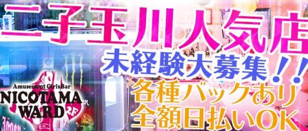 NICOTAMA WARD<ニコタマワード> 二子玉川 ガールズバー バナー