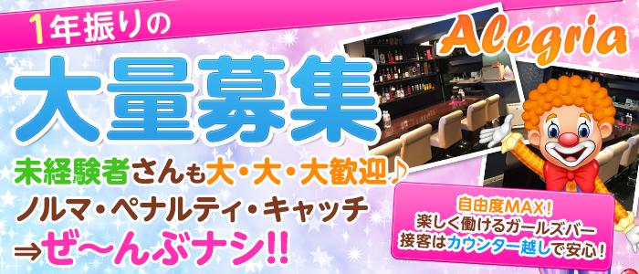 Alegria<アレグリア>(高田馬場ガールズバー)のバイト求人・体験入店情報