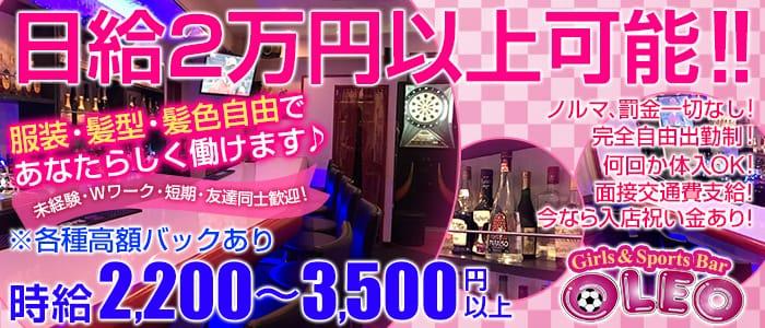 Bar OLEO<オレオ>(新橋ガールズバー)のバイト求人・体験入店情報