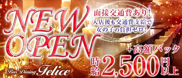 Bar Dining Felice<フェリーチェ>(五反田ガールズバー)のバイト求人・体験入店情報
