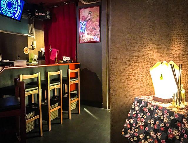 花魁Bar 籠女<Kagome> 渋谷 ガールズバー SHOP GALLERY 2