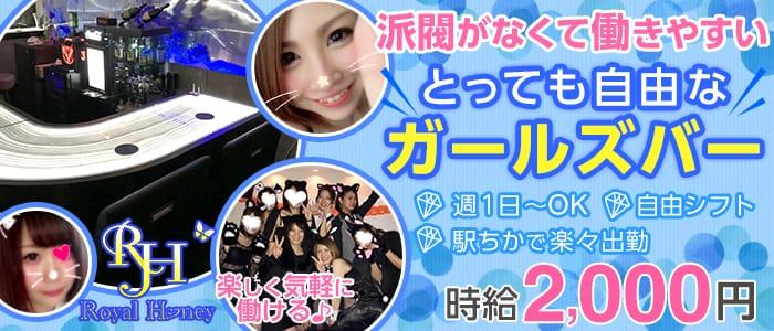 ROYAL HONEY<ロイヤルハニー>(五反田ガールズバー)のバイト求人・体験入店情報