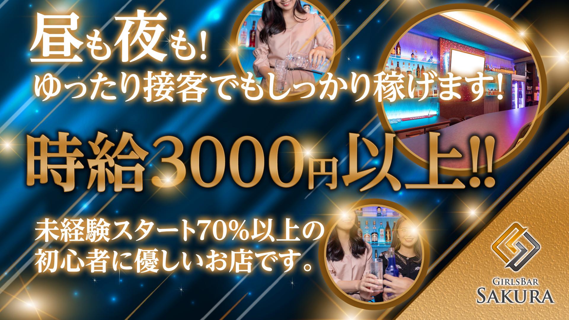 ガールズバーSAKURA<サクラ> 五反田 ガールズバー TOP画像