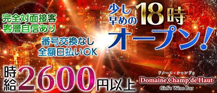 Domaine Champ de Haut<ドメーヌ・シャンドゥ> (上野ガールズバー)のバイト求人・体験入店情報