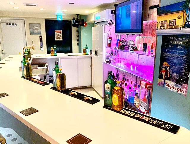 すーぱーがーる Super Girl's 渋谷 ガールズバー SHOP GALLERY 3
