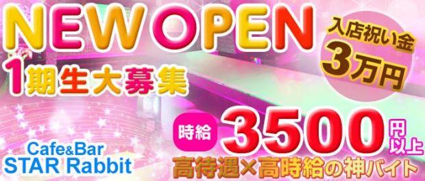 Cafe&Bar STAR Rabbit<スターラビット> 錦糸町 ガールズバー バナー