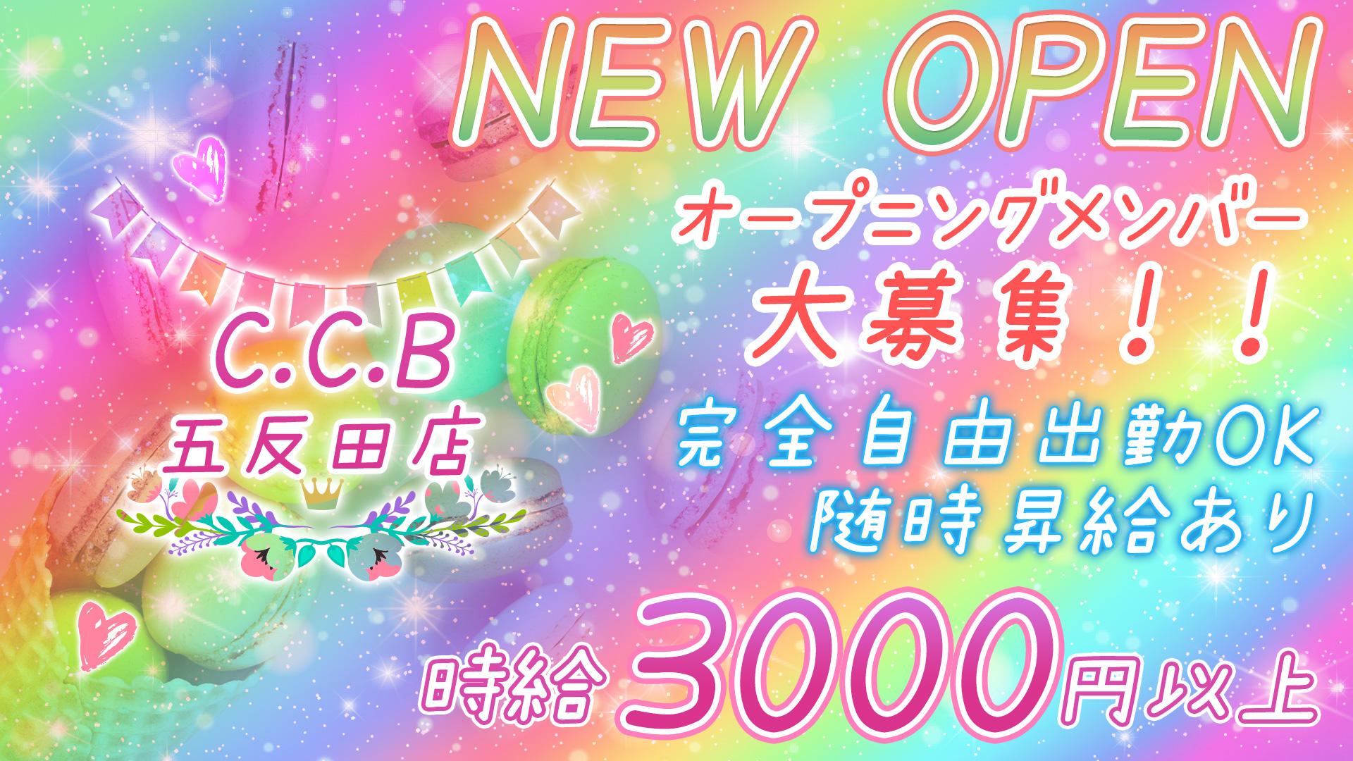 C.C.B<コミュニケーションバー>五反田店 五反田 ガールズバー TOP画像