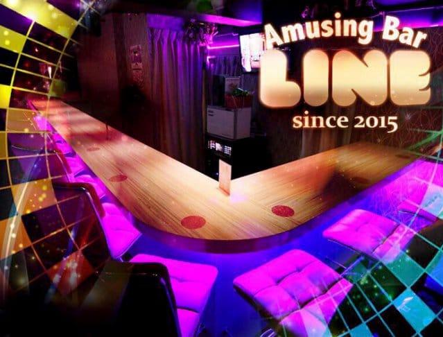 Amusing bar LINE<ライン> 池袋 ガールズバー SHOP GALLERY 3